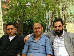 Mevlüt Apa, Mehmet Sözen ve İbrahim Şeflek dinleniyorlar