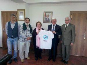 Karaman'dan Konya'ya sevgi yürüyüşü