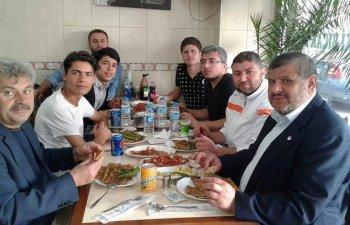 Başkan Şanlı'dan Taşkentspor'a ziyafet
