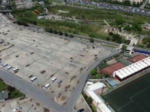 1 Mayıs'ın kutlanacağı alan havadan görüntülendi