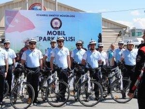 Mobil Park Polisleri görev başında