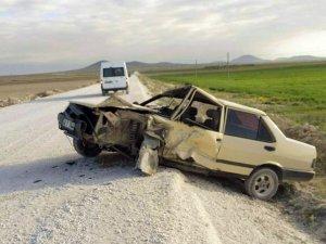 TEOG'da görevli öğretmenler kaza yaptı