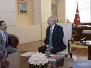 Kılıçdaroğlu, Hisarcıklıoğlu'nu kabul etti