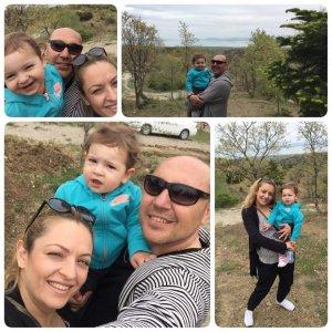 Özgür Kanyılmaz ve ailesinin mutluluğu