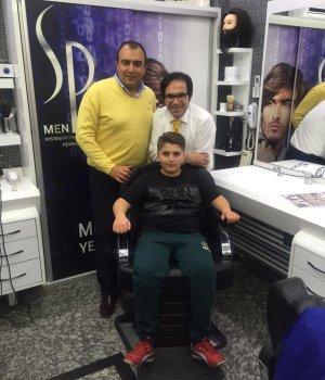 Ahmet Doğan ile Bülent Günindi Kuaför Kemal Çiçek'te