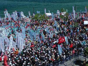 Türk-İş 1 Mayıs'ı Çanakkale'de kutluyor