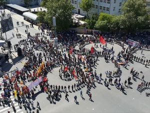 1 Mayıs Ankara'da kutlandı