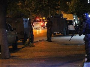 Gaziantep'te 20'nin üzerinde adrese terör operasyonu