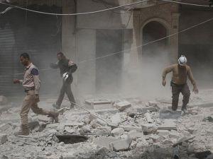 STK'lardan Halep'teki saldırılara tepki