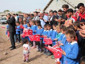 Başkan Tutal'dan asker adaylarına hediye
