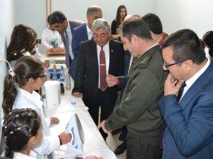 Tuzyaka'ya TÜBİTAK Bilim Fuarı açıldı