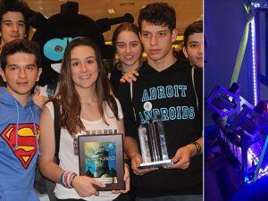 Türk öğrencilerin robotu ABD'den ödülle döndü