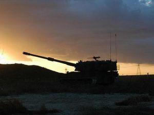 Suriye'deki DAEŞ mevzileri vuruldu