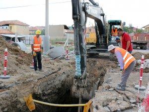 43 km kanalizasyon şebekesi döşeniyor