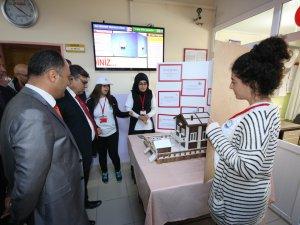 Lise öğrencilerinin bilimsel çalışmaları görücüye çıktı