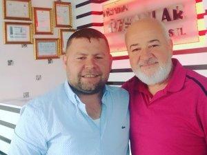 Salih Özkan ve Uğur Özteke'nin güzel muhabbeti