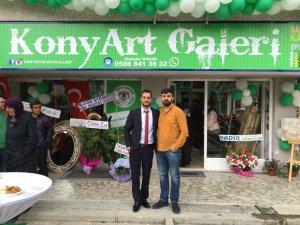 Konya ART Galeri dualarla açıldı