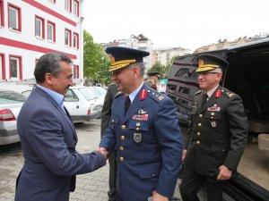 Konya Garnizon Komutanı'ndan Başkan Tutal'a ziyaret