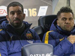 'Barcelona Arda ve Alves için tekliflere açık' iddiası