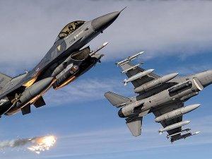 Irak'ın kuzeyindeki terör örgütü hedeflerine hava harekatı