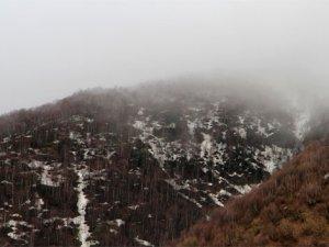 Ardahan'da Mayıs ayında kar yağışı