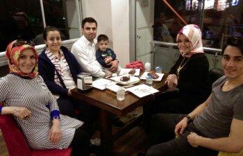 Zarife Hanım, aile bireyleri ile