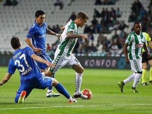 Torku Konyaspor evinde rahat kazandı