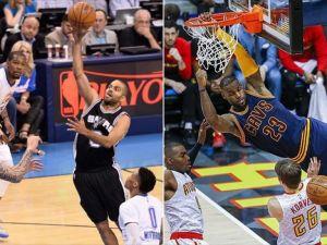 NBA'de Spurs ve Cavaliers kazandı