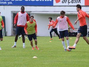 Trabzonspor'da Antalyaspor mesaisi başladı