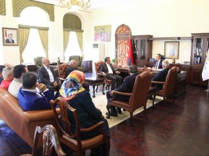 Başkan Tutal'dan Rektör Şeker'e ziyaret