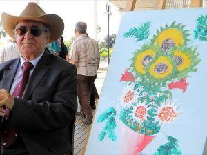 'Parmak ucuyla gören ressam'dan ailelere tavsiyeler