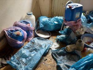 Nusaybin'de teröristlerin patlayıcı imalathanesi imha edildi