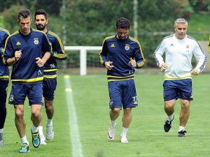 Fenerbahçe Gençlerbirliği maçı hazırlıklarına başladı