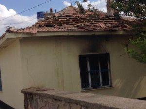 Kulu'da müstakil evde yangın çıktı