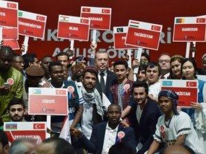 Erdoğan dünya gençleri ile buluşacak