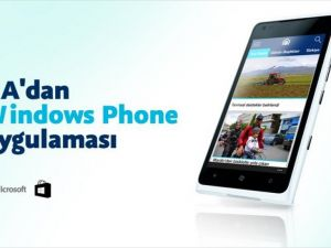 AA'dan 'Windows Phone' uygulaması