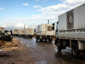 Suriye rejimi, Darayya'a giden yardım konvoyunu geri gönderdi