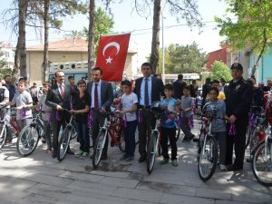 Çumra'da trafik haftası farkındalık programı düzenlendi