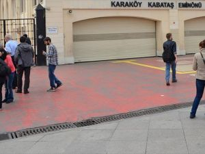 Kabataş'a 'martı' formunda transfer merkezi