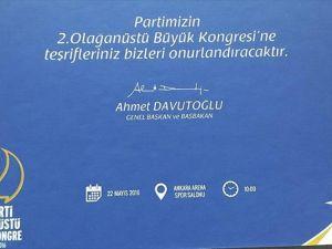 AK Parti'nin kongre davetiyeleri hazır