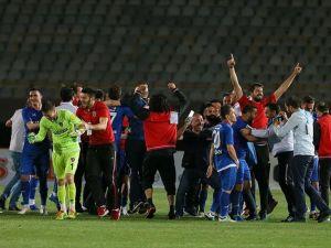 Kardemir Karabükspor Süper Lig'e yükseldi