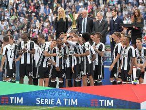 Serie A'da Juventus kupasına kavuştu