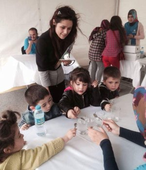 İmge Çocuk Kulübü Bilim Festivalinde