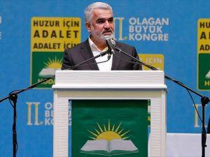 Yapıcıoğlu yeniden HÜDA PAR Genel Başkanı