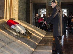 Sancar, Nobel Ödülü'nü Anıtkabir Komutanlığına teslim edecek