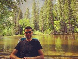 Genç Hukukçu Şevket Bey  Yosemite National Park'ta