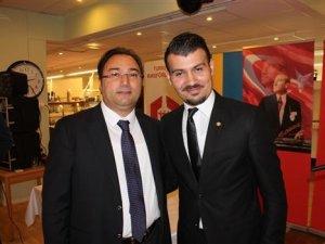 İsveç Türk Federasonuna Kululu Başkan