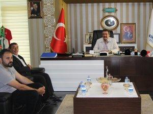Başkan Kale'ye Baikan Dere'den ziyaret