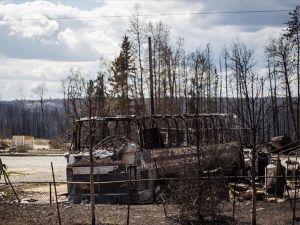 Kanada'daki yangın 760 milyon dolarlık zarara yol açtı