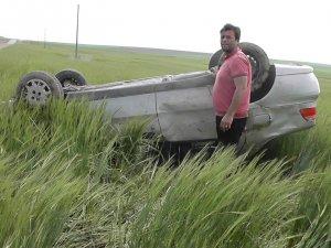 Kulu'da trafik kazası meydana geldi